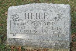 Henrietta Elizabeth <i>Vogelpohl</i> Heile