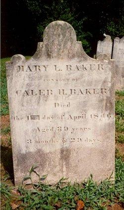 Mary Lawson <i>White</i> Baker