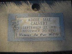 Addie Mae Calvert