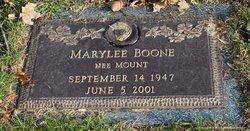 Marylee <i>Mount</i> Boone