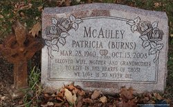 Patricia <i>Burns</i> McAuley