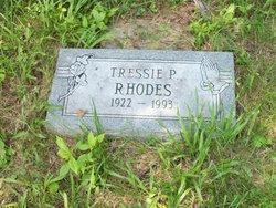 Tressie Pearl <i>Radcliffe</i> Whittington Rhodes