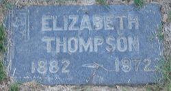 Elizabeth <i>Valtinson</i> Thompson