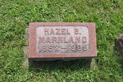 Hazel Belle <i>Beelar</i> Markland