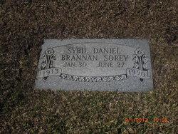 Sybil <i>Daniel</i> Brannan Sorey