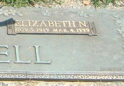 Elizabeth Nora <i>Herring</i> Cornell