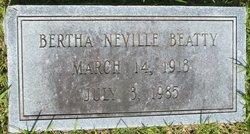 Bertha <i>Neville</i> Beatty