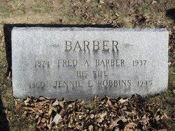Jennie E. <i>Robbins</i> Barber