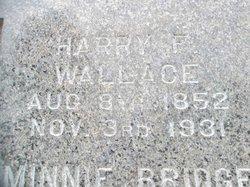 Harry Frank Wallace