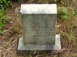Infant Daughter Atkins