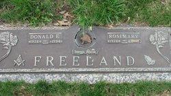 Rosemary <i>Hadley</i> Freeland