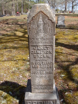 Janet <i>Cameron</i> Brown