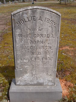 Mollie A. <i>Irby</i> Canada