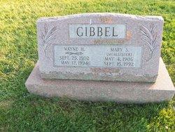 Mary S <i>McAllister</i> Gibbel