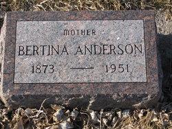 Bertina Olivia <i>Thoe</i> Anderson