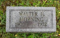 Walter H Horning