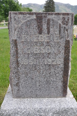 Phebe Elizabeth <i>Woolf</i> Gibson