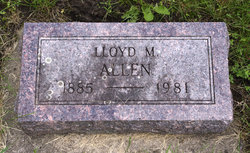 Lloyd Max Allen