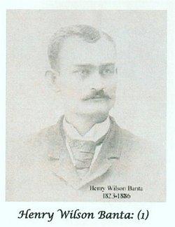 Rev Henry Wilson Banta
