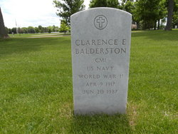 Clarence Edgar Pete Balderston