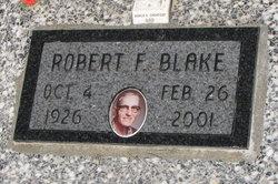 Robert F Blake