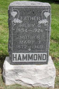 Mary Isabell <i>Worthington</i> Hammond
