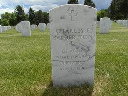Charles F Balderston