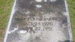Irma <i>Elrod</i> Barwick