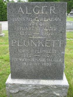 Jennie <i>Alger</i> Plunkett