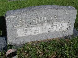 Minnie L. <i>Shelton</i> Philan