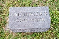Frederick Kennard Silsby
