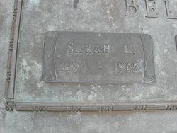 Sarah Lilla <i>Watt</i> Bell