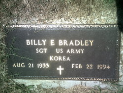 Billy E Bradley
