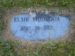 Elsie Elaine <i>Crym</i> Hudman