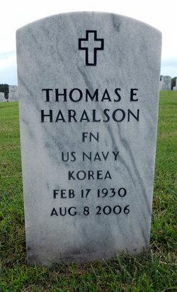 Thomas E Haralson