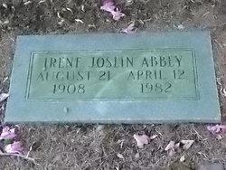 Irene <i>Joslin</i> Abbey