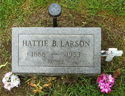 Hattie Bernice Bowen <i>Stoddard</i> Larson