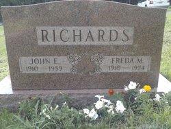 Freda Miller <i>Rose</i> Richards
