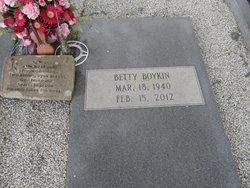 Betty Sue <i>Horne</i> Boykin