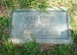 Mary <i>Ulrich</i> Marx