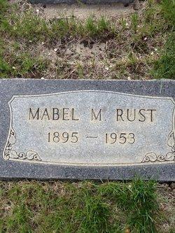 Mabel M Rust