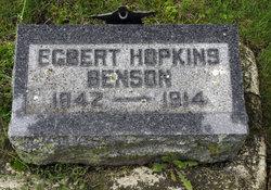 Egbert Hopkins Benson