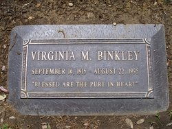 Virginia Mattie <i>Ward</i> Binkley