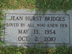 Jean <i>Hurst</i> Bridges