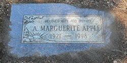 Alice Marguerite Marge <i>Storey</i> Apple