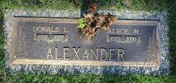 Donald L Alexander