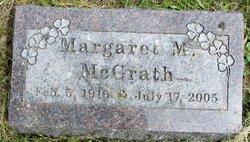 Margaret M. <i>Frahm</i> McGrath