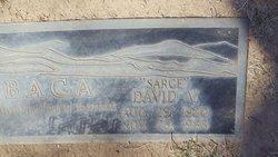 David B Sarge Baca