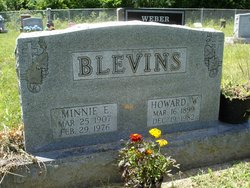 Minnie E Blevins