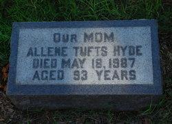 Allene <i>Tufts</i> Hyde